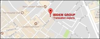 Agenzia inglesa di traduzione. Uffici in Londra