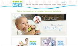 Ibidem traduce il sito web e i cataloghi di Saro Baby in Italiano.